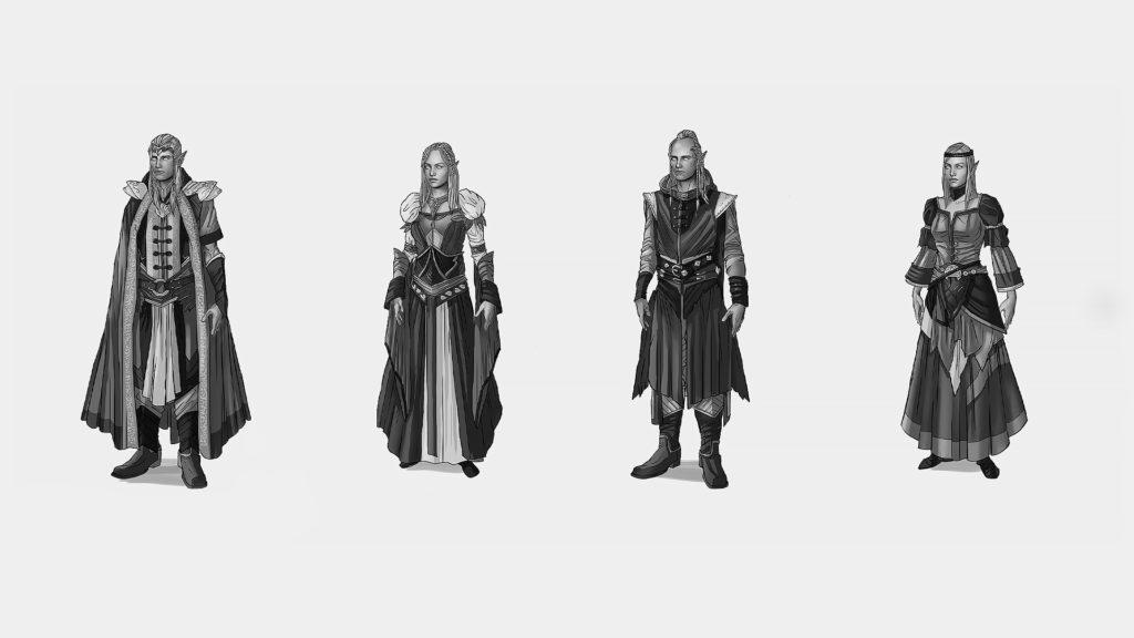 Alaloth - The Republic of Larastir - Elven Nobles