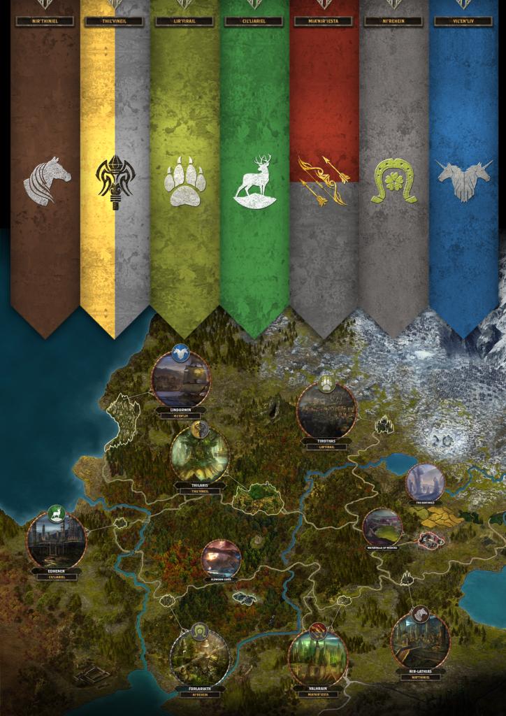 Alaloth - The Republic of Larastir Map