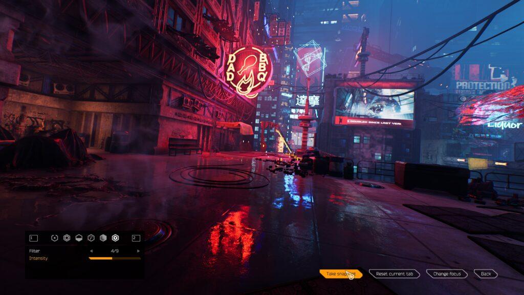 Ghostrunner Metal Ox DLC Photo Mode